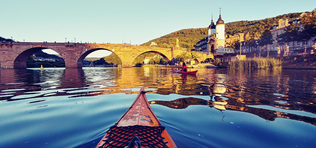 In die Heidelberger Altstadt Mal ganz anders
