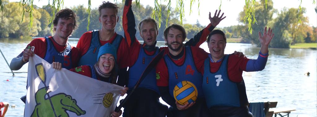 & unsere Mixed-Teams spielen regelmäßig auf Spaßturnieren.